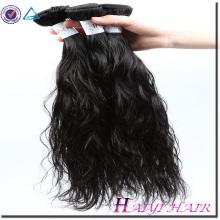 Cheveux malaisien 100 pour cent de cheveux humains lisses et doux 8A de vague normale