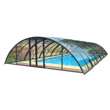 Couverture Sunroom Enceinte Une Piscine En Verre Patio