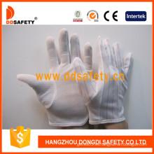 Ddsafety guantes antiestáticos con guantes de puntos pequeños, dobladillo de puntada de nylon (DCH119)