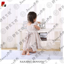 girl embroidered boutique style apron dress