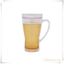 Caneca Frosty da parede dobro Caneca de cerveja congelada do gelo para presentes relativos à promoção (HA09070-3)