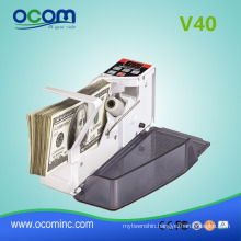 V40 mini handheld bill currency counting machine