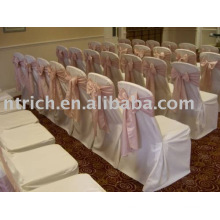 100%polyester chair cover, wedding/banquet/hotel chair cover,