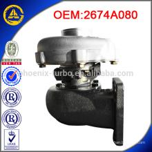 Turbocompresseur TO4E 2674A080 pour perkins