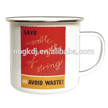 Save String Enamel Mug Save String Enamel Mug