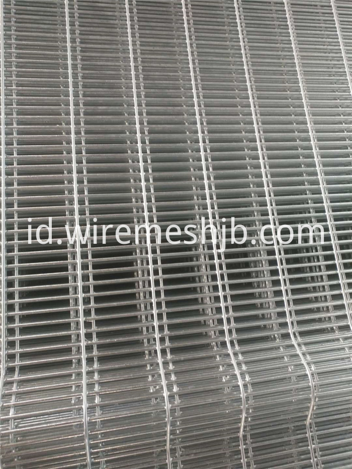 Hot-dip Galvanized 358 Fence