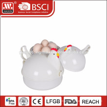 Cozedor de ovos de plástico microondas novo promoção