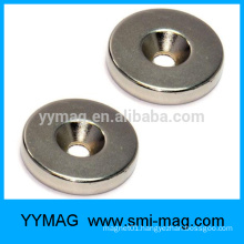 China strong magnet with screw hole