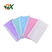 Wholesale factory supply non woven colorful medical disposable face mask