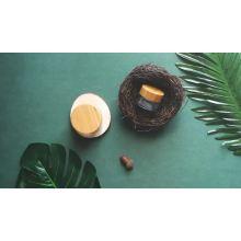 Conjuntos de botellas y tarros de bambú cosméticos Tapa de bambú