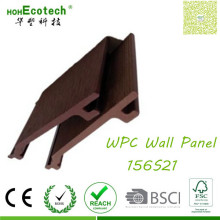 Einfach zu installieren Decking Anti-UV-hochverformbare Plank WPC Composite-Wandverkleidungen