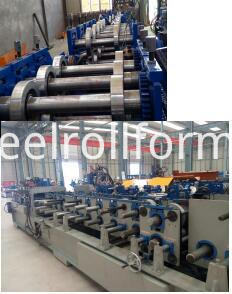 roll forming machine system