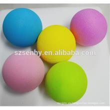 Escuela niños bolas de juguete bolas de espuma de color amarillo bola de espuma de poliestireno