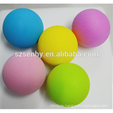 School children toy balls colored foam balls yellow Styrofoam ball