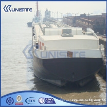 Barco de dragado de arena barcaza flotante para la venta (USA3-007)