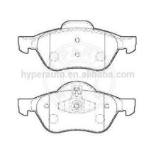 7701209100 brake pads for Renault Megane 2 front