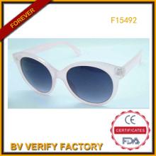 Gelee Farbe Rahmen Sonnenbrillen für Mädchen China Großhandel (F15492)