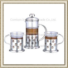 Edelstahl Kaffeebereiter Sets