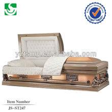JS-ST247 americano estilo bronze caixões