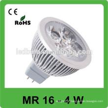 O ponto de alumínio MR16 conduziu a luz, luz conduzida do ponto
