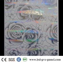 Laser Hotstamp PVC Panel 25cm 7.5mm Algeria Hotselling PVC Ceiling