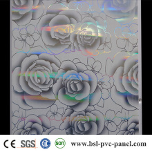 Painel do PVC do hotstamp do laser 25cm 7.5mm Teto do PVC de Argélia Hotselling