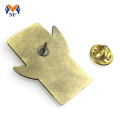 Custom gold plating pin badges for event