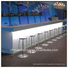 pub long tables/acrylic sheet bar counter top