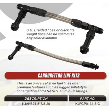 Carburettor Line Kit