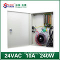 8 output Saluran Power Supply 24V10A AC