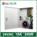 8 Kanaaluitgang Boxed voeding 24V10A AC