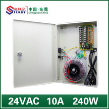 8 Channel output Boxed Power Supply 24VAC