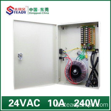 8 Saluran output Power Supply 24VAC