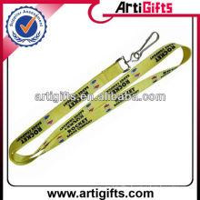 Promotional nylon neck strap lanyard