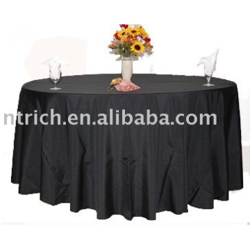 Hotel Table Cover, 100%polyester tablecloth, banquet table linen