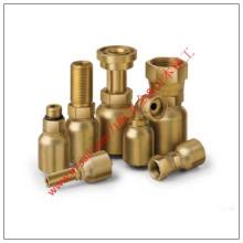 Conexões e conectores de tubos de cobre