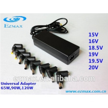 65W universal notebook ac/dc power adapter