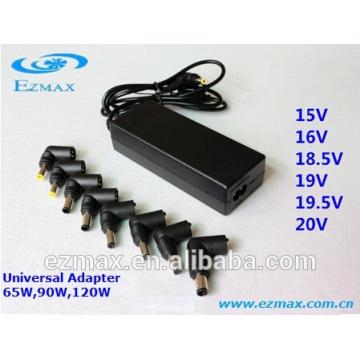 Adaptateur secteur universel universel AC / DC 65W
