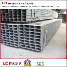Black Rectangular Steel Pipe for Structure Building