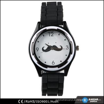 Benutzerdefinierte Silikon Uhren Quarz, Frau Uhren 2015