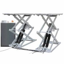 Autenf hydraulic 3000kg scissor car lift/electric scissor car lift