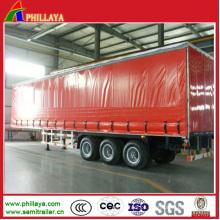 Van Cargo Box Corpo Caminhão Semi Reboque / Reboque Lateral Cortina