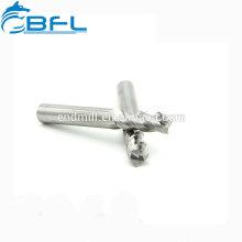 BFL Endmill do carboneto 3 de BFL para o alumínio, Endmill para o alumínio