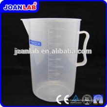 JOAN Lab PP Material Desechable Taza de medición de plástico para su uso
