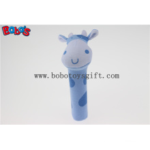 CE/En71 Standard Plush Stuffed Cow Stick Toy for Infant/Baby Bosw1039