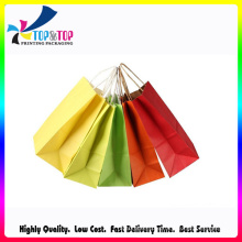 Offset Printing Kraft Recyclable Paper Bag for Grocery