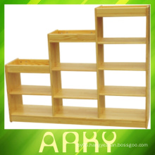 Preschool Wooden Furniture Storage Cabinet