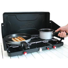 Mini Portable Folding Camping Gas Herd mit 2 Brenner