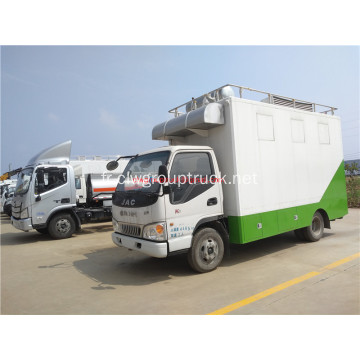 JAC 4x2 Kitchen Cooking Mobile Camion de restauration