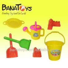 Plástico, praia, brinquedo, praia, balde, jogo, pás